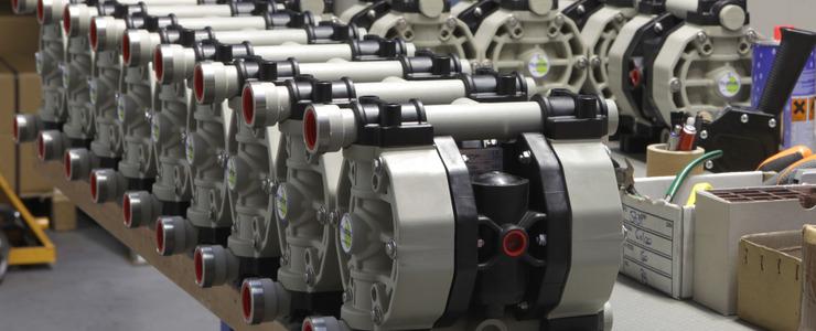 Fluimac production line