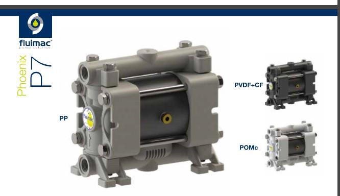 P007 small diaphragm pump Fluimac