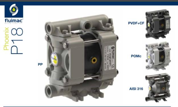 small diaphragm pump by Fluimac model P018