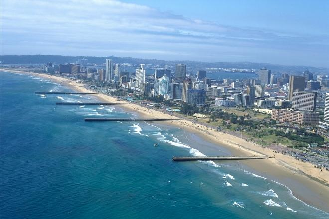 Durban City beachfront