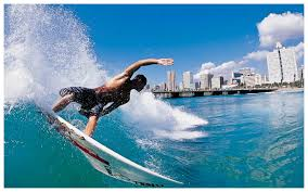 Surfing city DurbanSouth Africa